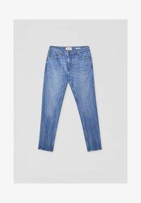 PULL&BEAR - Džíny Straight Fit - stone blue denim - 6