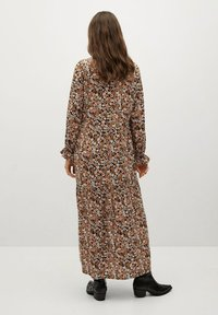 Mango - ELI-A - Maxi dress - black/brown - 1