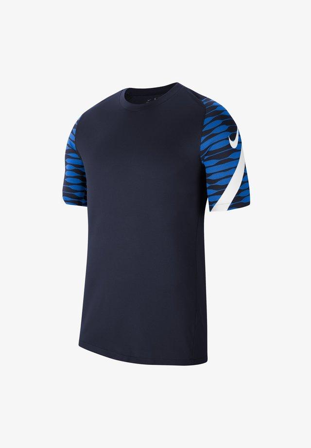 T-shirt print - blauweiss