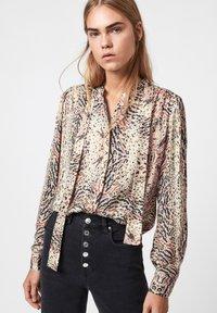 AllSaints - TONI LS ARIETTA - Button-down blouse - white - 0