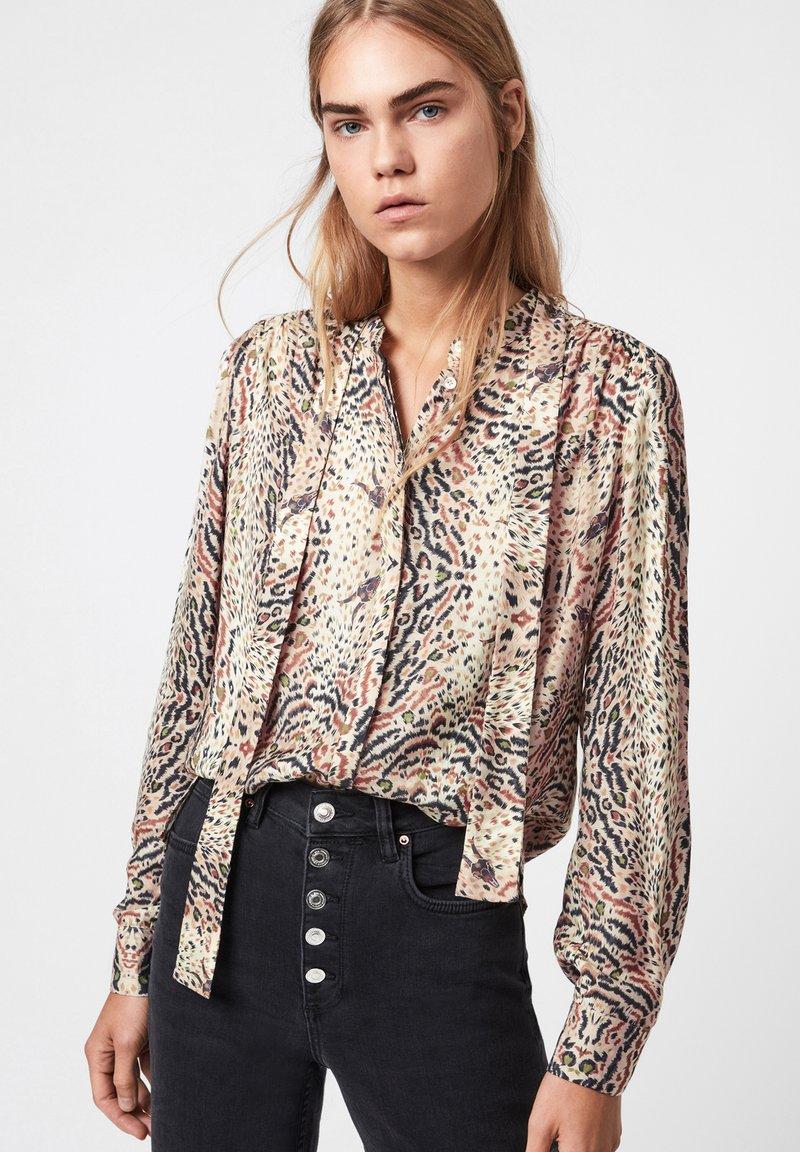 AllSaints - TONI LS ARIETTA - Button-down blouse - white