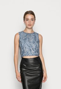 Lace & Beads - GABBY  - Toppi - blue - 0
