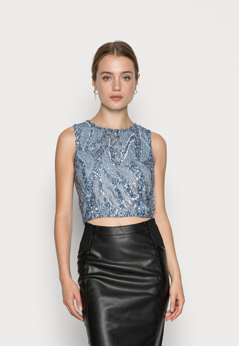 Lace & Beads - GABBY  - Toppi - blue