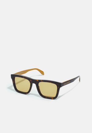 UNISEX - Sunglasses - havana/yellow