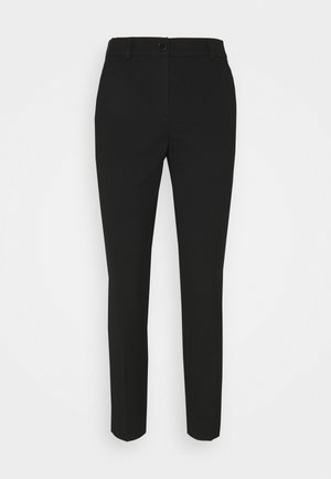 CIGARETTE PANTS - Trousers - deep black