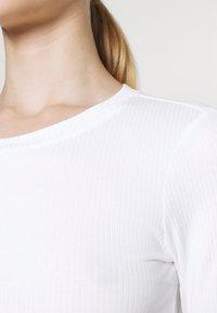 Monki - BARB 2 PACK - Långärmad tröja - black dark/white - 7
