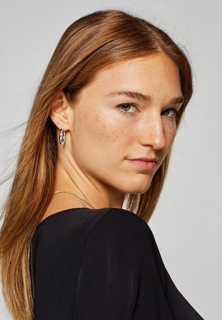Esprit - CREOLEN  - Boucles d'oreilles - silver-coloured