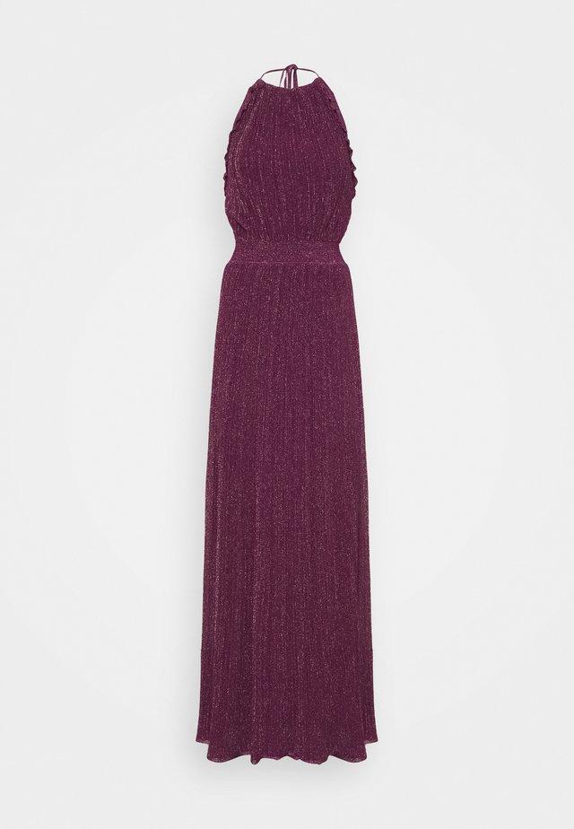 ABITO LUNGOSENZA MANICHE - Jerseykleid - purple