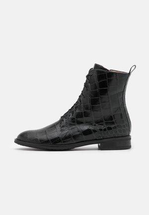 LAGO - Schnürstiefelette - schwarz