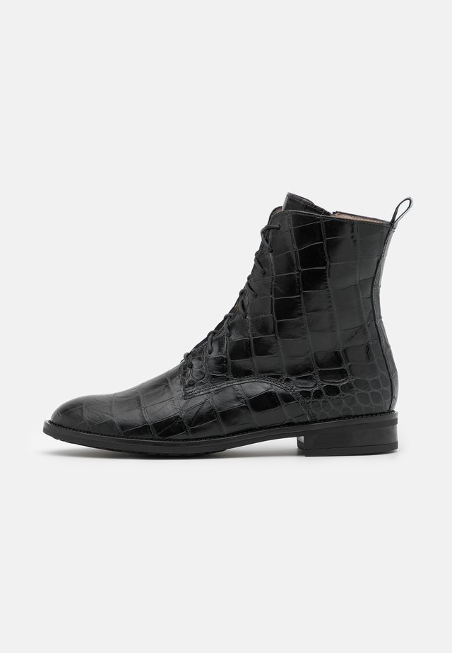 LAGO - Bottines à lacets - schwarz