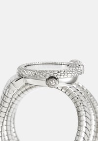 Just Cavalli - DROUBLE WRAP WATCH - Watch - silver-coloured/white - 2