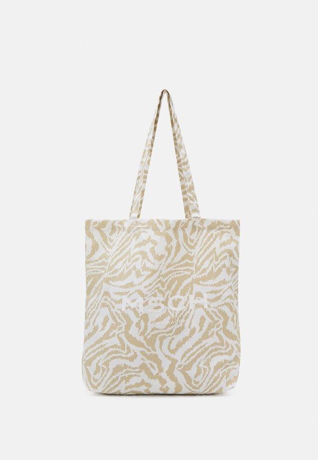 ORGANIC LOGO SHOPPER - Shopping bag - white