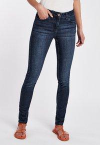 Next - PETITE - Skinny džíny - mottled blue - 0