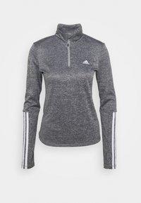 adidas Performance - Funkční triko - mottled grey - 4