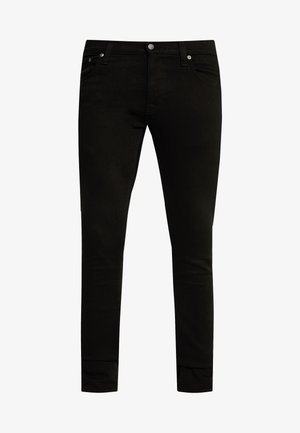 TIGHT TERRY - Slim fit -farkut - ever black