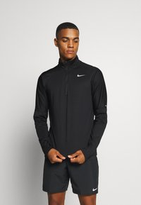 Nike Performance - Sports shirt - black/silver - 0