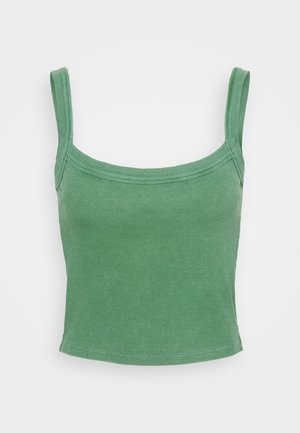 CROPPED TANK - Top - juniper green