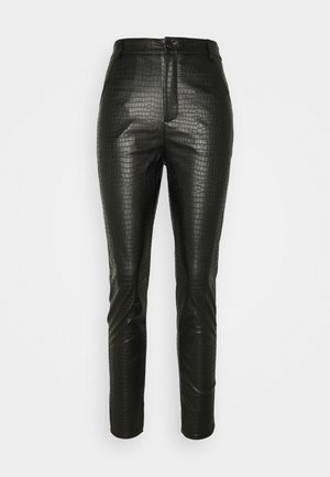 CROC TROUSER - Legging - black