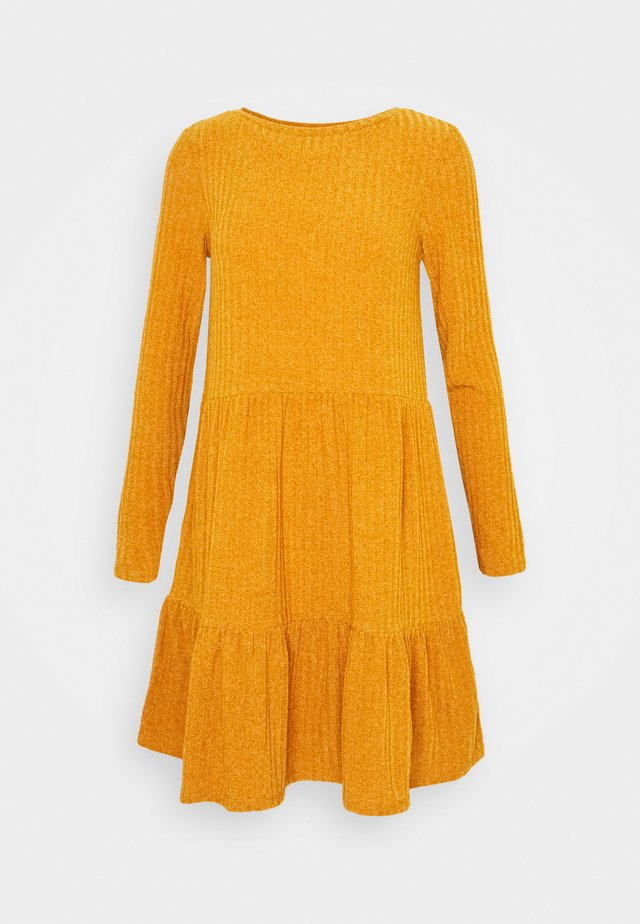 VIELITA DRESS - Jumper dress - pumpkin spice/melange