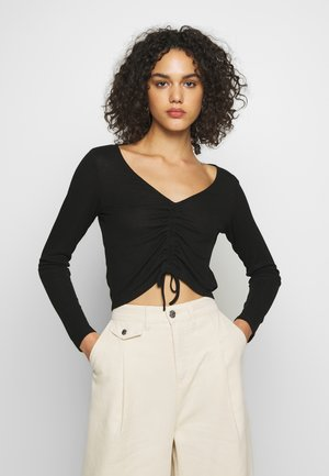OLLE - Long sleeved top - black