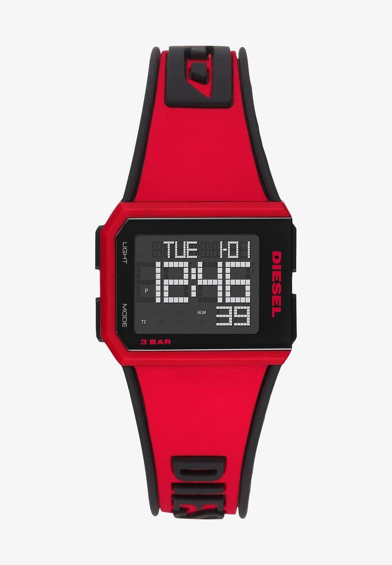 Diesel - Digital watch - red