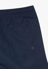 Calvin Klein Swimwear - MEDIUM DRAWSTRING CORE PLACED LOGO - Swimming shorts - blue - 3