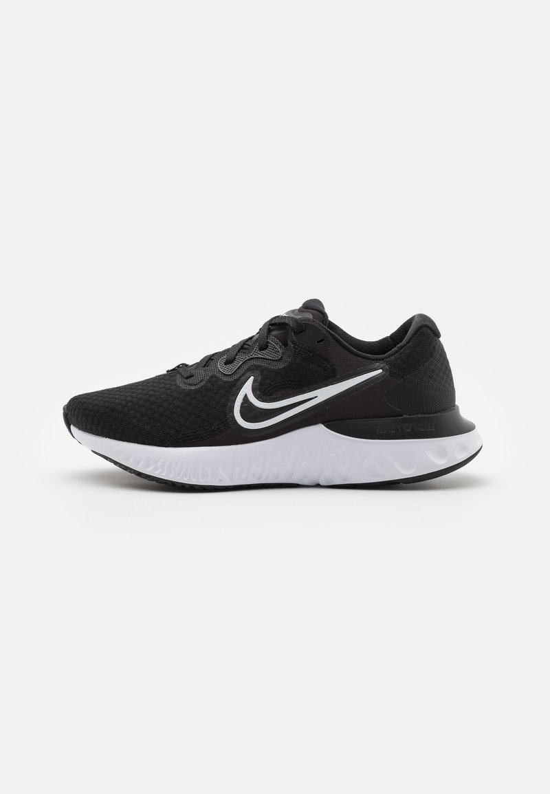 Nike Performance - RENEW RUN 2 - Nøytrale løpesko - black/white/dark smoke grey