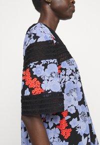 Hofmann Copenhagen - ABELLA PRINT - Robe d'été - black - 5