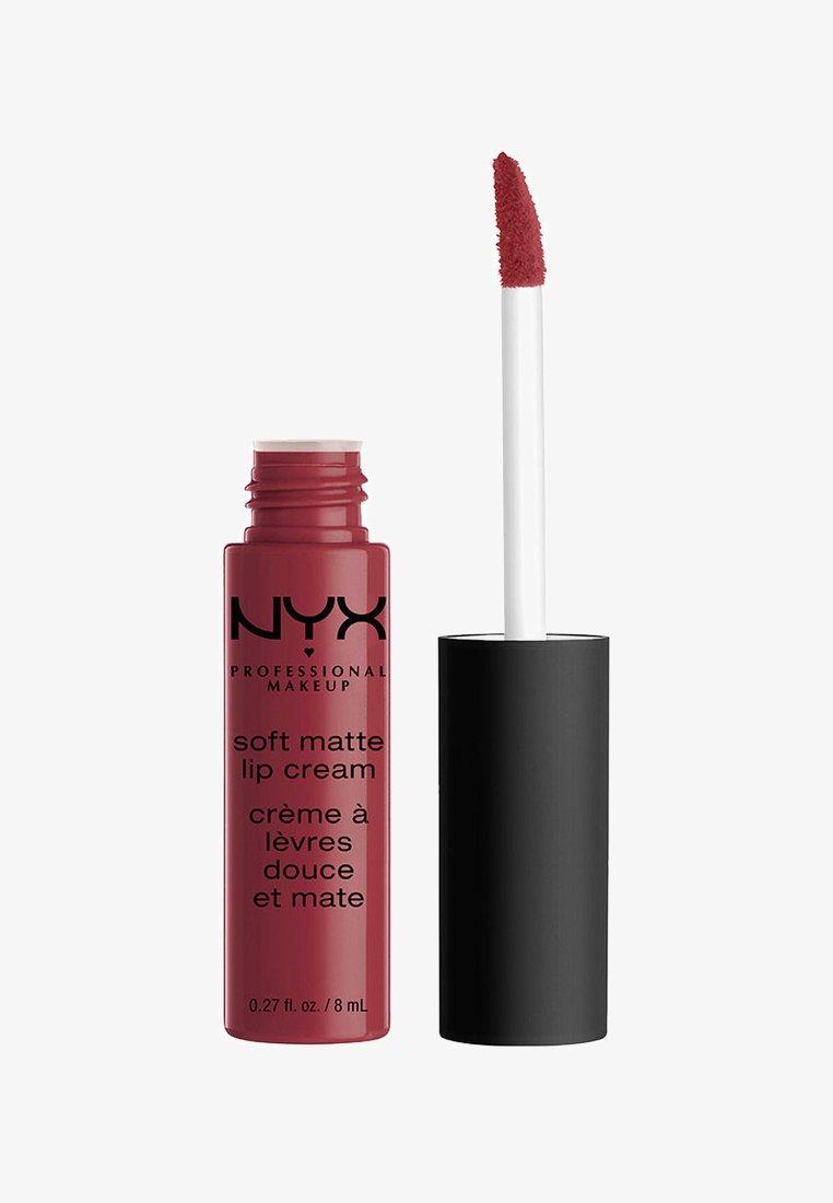 Nyx Professional Makeup - SOFT MATTE LIP CREAM - Rouge à lèvres liquide - 25 budapest
