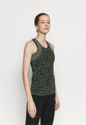 SLIM FIT TANK - Top - four leaf clover