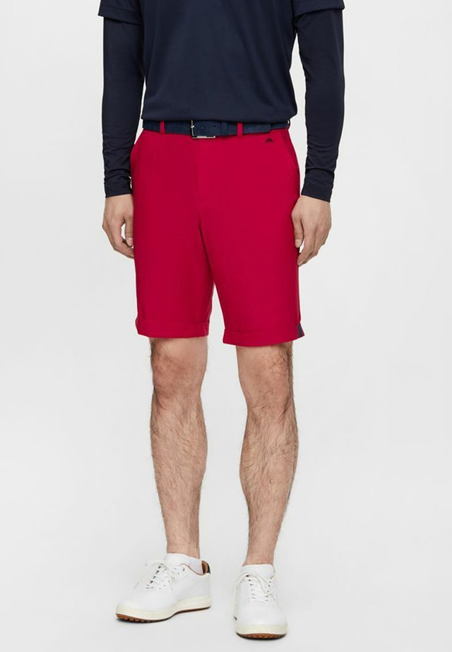 Sports shorts - red bell