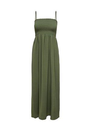 GESMOKTES - Maxi dress - kalamata