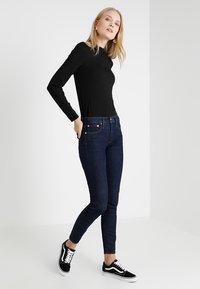 J.CREW TALL - TOOTHPICK - Slim fit jeans - dark blue - 1