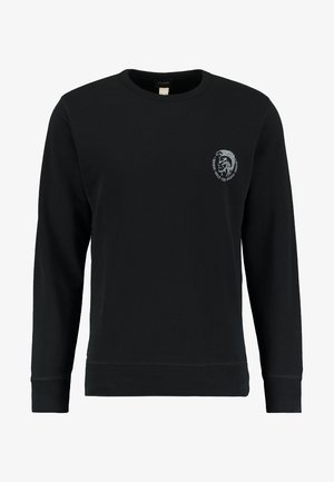 UMLT-WILLY SWEAT-SHIRT - Sweatshirt - schwarz