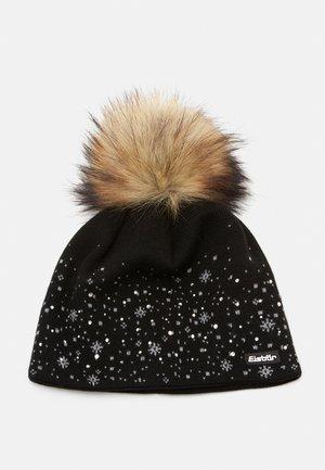 RANA CRYSTAL  - Bonnet - schwarz/graumeliert/real