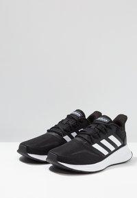adidas Performance - RUNFALCON - Neutrální běžecké boty - core black/footwear white - 2
