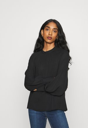 VILUCY BALLON SLEEVES CAMP - Long sleeved top - black