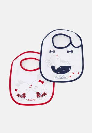 BIBS 2 PACK UNISEX - Bavoir - bright white