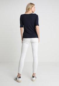 TOM TAILOR - BOAT NECK - Basic T-shirt - sky captain blue - 2