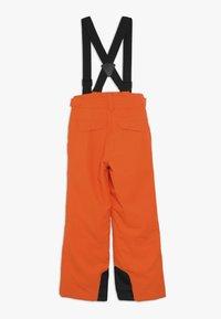 Ziener - ANDO JUNIOR - Snow pants - bright orange - 1