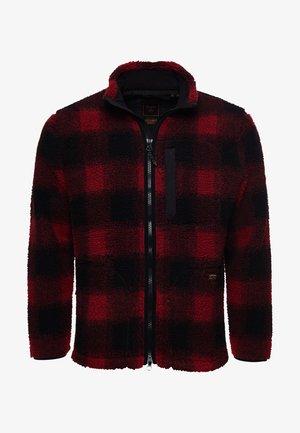 WORKWEAR - Fleece jacket - black/red