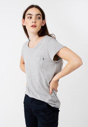 ASHLEY  - T-shirt basic - gray melange