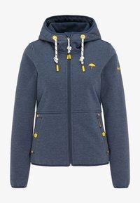 Schmuddelwedda - Zip-up sweatshirt - marine melange - 4