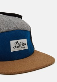 Lil'Boo - BLOCK PANEL EARS - Cap - blue/dark grey/brown - 4