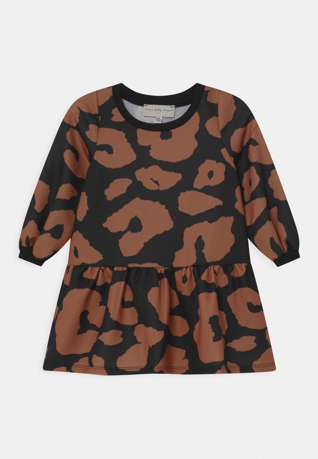 LOOPBACK LEOPARD - Day dress - multi-coloured