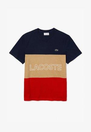 T-shirt imprimé - marine multico