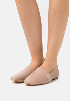 COMFORT LEATHER - Slippers - beige