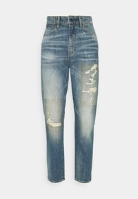 G-Star - JANEH ULTRA HIGH MOM ANKLE WMN - Jeans slim fit - vintage amalfi restored - 4