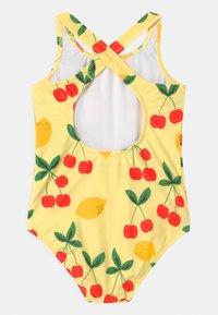 Mini Rodini - CHERRY LEMONADE  - Swimsuit - yellow - 1