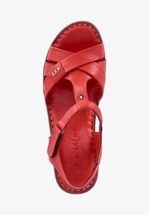 Walking sandals - rot